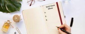 """Et si """"Prendre soin de soi"""" n'était qu'une petite habitude de 5 minutes<p></p>jour qui viendrait s'insérer progressivement au quotidien"""